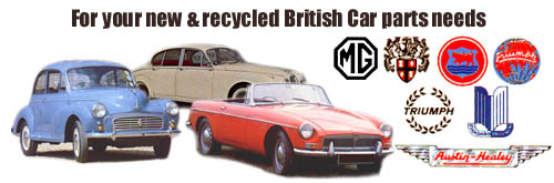 For your new and recycled British car parts needs
